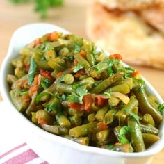 This warm Moroccan Eggplant Salad (Zaalouk) combines cooked eggplant, tomatoes, and classic spices and is enjoyed as a side or alone with lots of bread. Semolina Pudding, Lebanese Desserts, Light Summer Meals, Spreadable Cheese, Eggplant Salad, Red Lentil Soup, Vegetarian Recipes, Healthy Recipes, Mung Bean