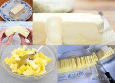 Muitas receitas pedem manteiga em temperatura ambiente. É fundamental que ela esteja na consistência correta para um bom resultado. Como a temperatura ambiente vai variar consideravelmente em função do local e da época do ano é importante entender a consistência que ela deve e...