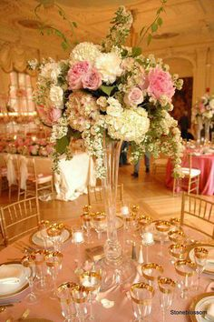 Beautiful wedding setting. from FB page of Susan Smith.