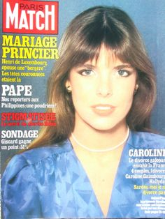 Paris Match - Cover - February 27, 1981 - Princess Caroline
