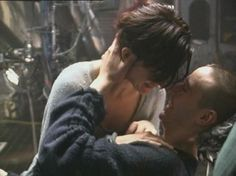 """shipsnthenight: """" – Keanu Reeves and Carrie-Anne Moss filming the first kiss between Neo and Trinity in The Matrix I found a bunch of old BTS videos for the whole trilogy while cleaning my. Keanu Matrix, Matrix Film, The Matrix Movie, Keanu Reeves House, Keanu Charles Reeves, Keanu Reeves Quotes, Matrix Reloaded, Carrie Anne Moss, Keanu Reaves"""