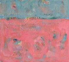 Pink Abstract Original Acrylic Painting on canvas SALE. $225.00, via Etsy.