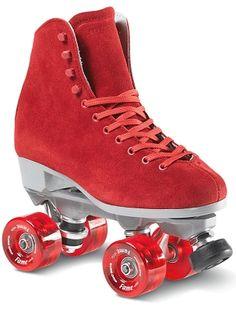 Sure Grip Boardwalk Fame - Red <br>Indoor Roller Skates
