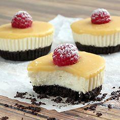 Lemon Tofu Cheesecake Bites Recipe