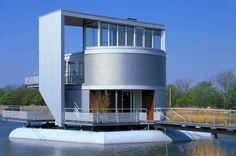 floating house turnable the netherlands