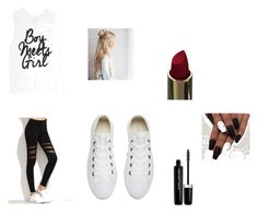 """Darkside"" by harmar ❤ liked on Polyvore featuring Converse and Marc Jacobs"