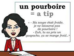Le mot (utile) du jour. « pourboire » [puʀbwaʀ]  #fle #Expressionoftheday #learnfrench #francais Tweets de Media par Les Machin (@Les_Machin) | Twitter