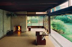 Sliding Window Wall to the Outdoors