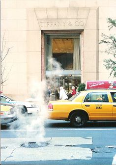 It's cheesy but one day I want to stand outside Tiffany & Co in New York and eat my breakfast.