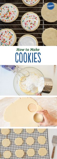 How to Make Cookies: Everything you need to know about making the perfect cookie + the best sugar cookie recipe you'll ever try!