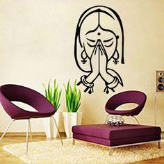 Wall-Decals-Buddha-Face-Om-Sign-Vinyl-Sticker-Home-Decor-Interior-Bedroom-LM210 Om Sign, Yoga Studio Decor, Buddha Face, Wall Decals, Wall Art, Vinyl Signs, Vinyl Art, Interior Decorating, Bedroom Decor