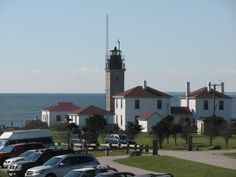 Beavertail Lighthouse is located at the southern tip of Conanicut Island on the Narragansett Bay.