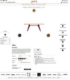 vitra. em table. farben konfigurieren und kombinieren. bei selig wohndesign.