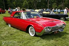 1961 Ford Thunderbird hardtop information Vintage Cars, Antique Cars, Thunderbirds Are Go, Collectible Cars, Ford Thunderbird, Car Ford, Mercury, Camper, Automobile