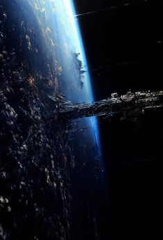 Jupiter Ascending Concept Art by Philippe Gaulier. The Planet Orus.