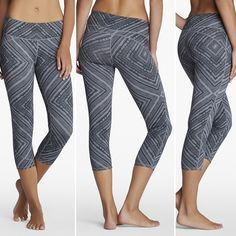 "• Fabletics Lima Capris in Taos Print ・Sold out online! ・Condition: Excellent used condition  ・Fit: True to size (very stretchy) ・Size: Medium | 8 ・No trades! GREAT leggings, not see through at all! Price is negotiable using the ""Offer"" button. I do not negotiate in the comments unless an offer has been made. Same or next day shipping on all orders! ☺️ Fabletics Pants Capris"