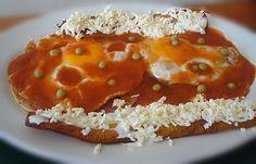 Desayuno yucateco - huevos motuleños