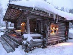 Comfy cabin love
