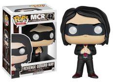 Funko POP! Rocks My Chemical Romance Red Tie Gerard Way Vinyl Action Figure 42