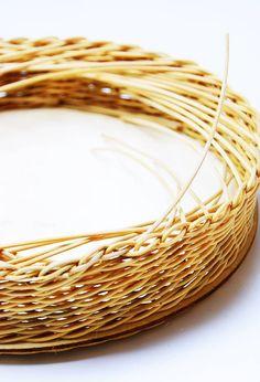Korbflechten mit Peddigrohr leicht gemacht - Calistas Traum Rattan, Bangles, Bracelets, Wicker Baskets, Diy, Jewelry, Tutorials, Other, Round Round