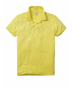 BRIGHT COLOURED JERSEY POLO