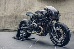 """rhubarbes: """" Bavarian Fistfighter / BMW R nineT by Rough Crafts via derestricted. More bikes here. """""""