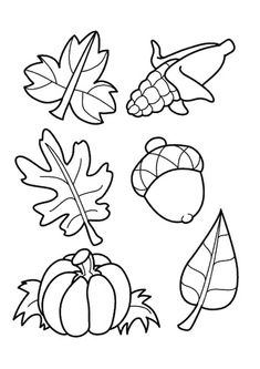 Printable Autumn Leaves Coloring Pages Free All About For Kids