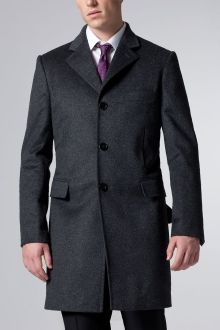 The Essential Charcoal Topcoat