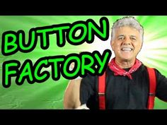 """""""Button Factory"""" is a popular action song that children do in a sitting position. This movement song is a full body workout.This video is great for brain breaks Movement Activities, Music And Movement, Group Activities, Classroom Activities, Fun Songs, Kids Songs, Silly Songs, Kids Music, Music Class"""