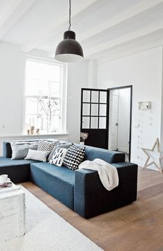 New Year Interior Apartments In Scandinavian Style - http://www.interiorsigndesign.com/home-decor-ideas/new-year-interior-apartments-in-scandinavian-style/