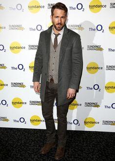 Ryan Reynolds Estilo Moda Masculina