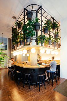 """""""Reception Desk"""" at Barcelona-based startup, Typeform; by Lagranja Design"""