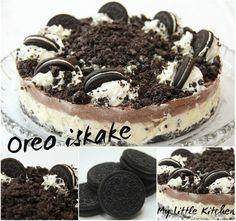 My Little Kitchen: Oreo iskake Oreo Ice Cream, Cream Cake, Little Kitchen, Dessert Recipes, Desserts, Drink Recipes, Foods To Eat, Oreos, Recipe Of The Day