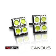 RAZIR T10 4-SMD 5050 CANBUS LED (PAIR) $10.95