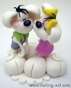 pareja perritos
