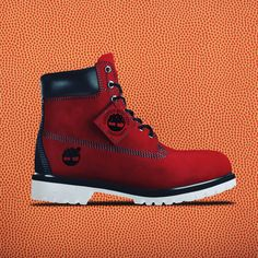 The last four remain. But even if your team isn't playing today, there's always next season to wear your team's colors. Timberland Boots Outfit, Timberlands Shoes, Best Sneakers, Sneakers Fashion, Addidas Shoes Mens, Timbaland Boots, Shoes Wallpaper, Mens Fashion Wear, Baskets