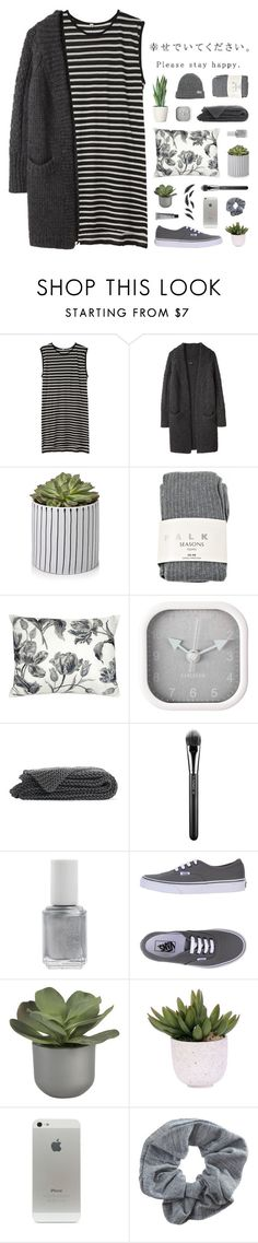 """~ 112515"" by khieug ❤ liked on Polyvore featuring R13, Y's by Yohji Yamamoto, Falke, Laura Ashley, Karlsson, MAC Cosmetics, Essie, Vans, Crate and Barrel and Lux-Art Silks"