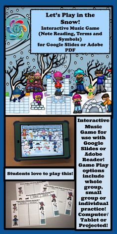 A fun, interactive music education game to help students with understanding music symbols and terms. Students love this! Music Activities, Music Games, Kids Music, Learning Games, Teaching Music, Teaching Resources, Teaching Ideas, Elementary Music, Elementary Teaching