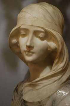 19th Century Bust of a Maiden by G. Pugi image 5