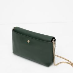8196cf4b6c564b Image 4 of MESSENGER BAG WITH CHAIN from Zara Zara, Ретро, Стиль, Мода