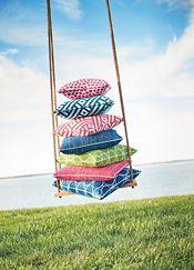 Calypso for Thibaut. Summer Of Love, Summer Colors, Summer Fun, Interior Design Magazine, Interior Design Inspiration, Pillow Inspiration, Summer Patterns, Fabric Wallpaper, Outdoor Fabric