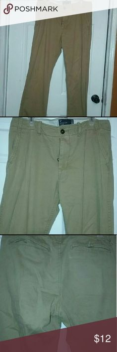 Mens American Eagle 34 X 36 Khakis Great Condition Mens American Eagle 34 X 36 Khakis Great Condition   **Bundle With Other Khakis Or Jeans Check Out My Page To Save ** American Eagle Outfitters Pants Chinos & Khakis