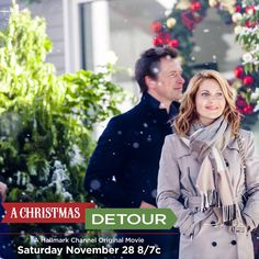 """Candace Cameron Bure on Instagram: """"Guess who has a new Christmas movie airing soon?! ME ! """"A Christmas Detour"""" airs Saturday, November 28th, Thanksgiving weekend with my dapper co-star @pgtip ! I'll be hosting @hallmarkchannel 's 5 nights of original movies, so tune in all week long!"""""""