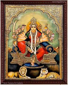 Original hand made tanjore paintings Hd Cool Wallpapers, Lord Vishnu Wallpapers, Shiva Art, Hindu Art, Online Art Store, Vaishno Devi, Online Painting, Paintings Online India, Kali Goddess