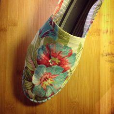Talla 44/45 hecha y me queda estupenda #alpargata #espadrilles #handmade #hechoamano #madrid #malasaña