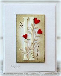 CAS358 Be Happy by Biggan - Cards and Paper Crafts at Splitcoaststampers