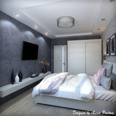 Квартира для молодой пары. Спальня