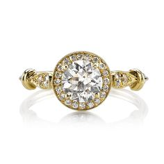 Single Stone Danielle Diamond Engagement Ring | Greenwich Jewelers