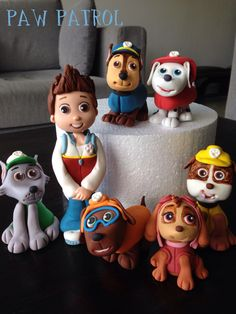 paw patrol cake toppers - Google Search
