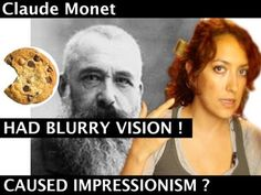 Did you know that Monet had bad eyesight?